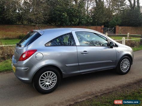 3 Door Corsa For Sale by 2007 Vauxhall Corsa Club For Sale In United Kingdom