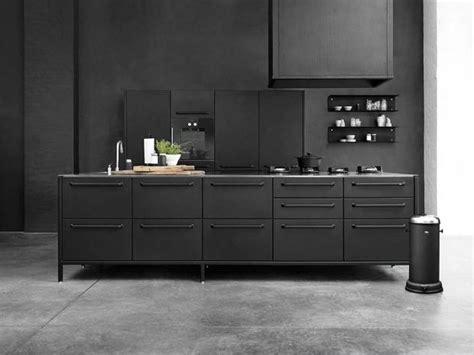 Euro Kitchen Cabinets by Industriell K 252 Chen In Schwarz Bild 6 Sch 214 Ner Wohnen