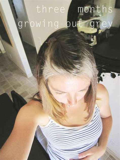 pictures of growing out gray hair well 168 best silver revolution images on pinterest going