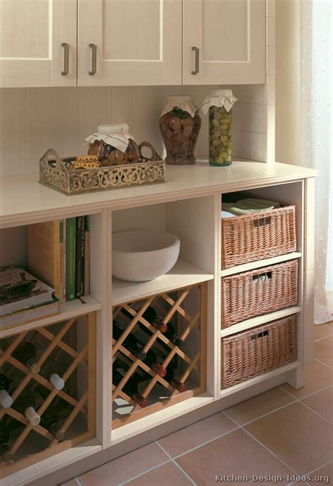 baskets for kitchen cabinets pictures of kitchens traditional off white antique
