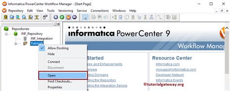 informatica workflow manager informatica workflow manager