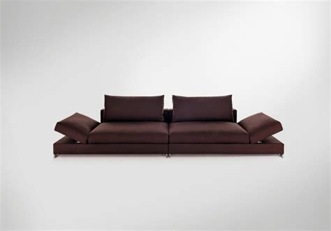 sofa movers two seater sofa in fabric moving arketipo luxury