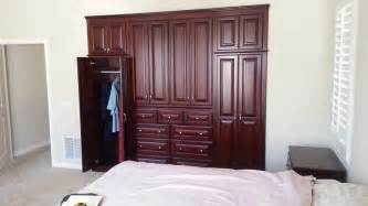 Built in bedroom cabinets
