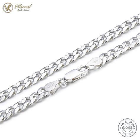 cadena en plata para hombre colombia cadena 100 plata de ley 925 genuina para hombre acrux