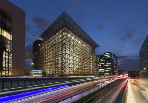 consiglio europeo sede europe building le radici continente nella nuova sede