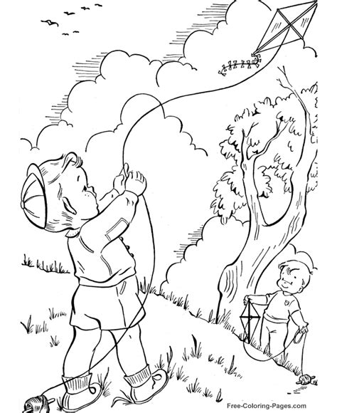 spring coloring pages sheets and pictures 09
