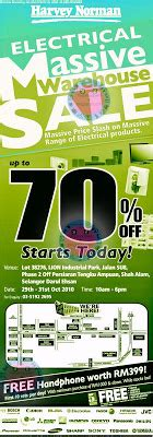 harvey norman electrical warehouse sale up to 70% : 29