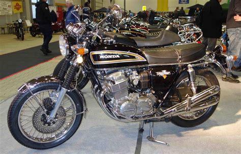 Motorrad Honda Kassel by Honda 750 Ausgestellt Bei Der Technorama Kassel Im M 228 Rz