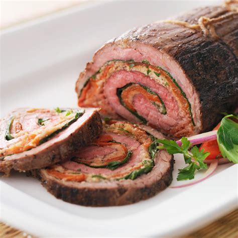 Stuffed Flank Steak Recipe   Hallmark Ideas & Inspiration