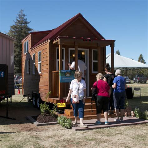 tiny house from the auburn fall home show