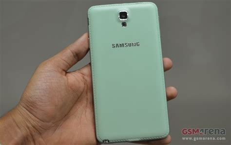Samsung Tab Bali galaxy note 3 neo mint green is the new color edition for the model