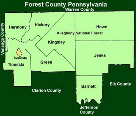 populated places in pennsylvania by county
