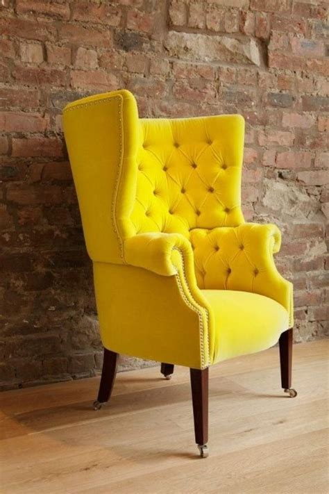 Yellow Chairs Upholstered Design Ideas Best 25 Yellow Chairs Ideas On Yellow Armchair Yellow Dining Chairs And Midcentury