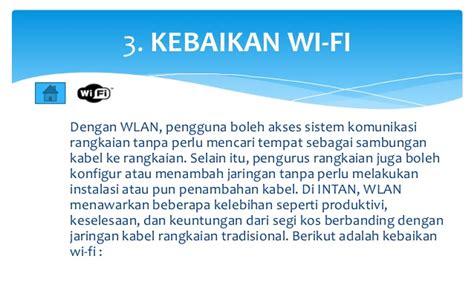 Wifi Di Malaysia apa itu wifi