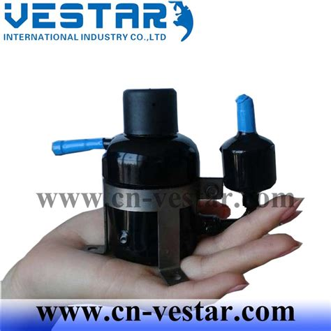 mini compressor brushless air conditioner dc rotary