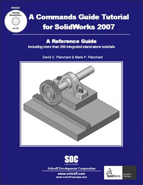 autocad 2007 tutorial book commands guide tutorial for solidworks 2007 a reference