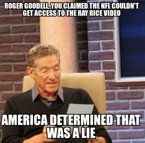Roger Goodell Memes - if you think firing nfl commissioner roger goodell over