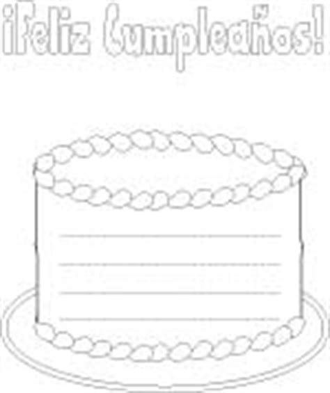 birthday coloring pages in spanish birthday coloring pages printables