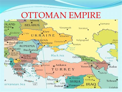 The Ottoman Empire Preferred To The Transformation Of