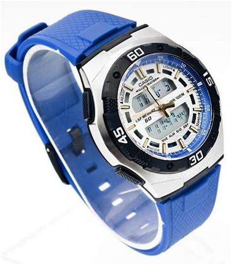 Harga Grosir Stopwatch 100 Memory Jam Tangan Casio Original Garansi Resmi 1th Tipe Aq 164w