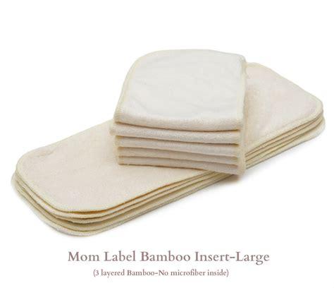 insert bamboo insert clodi bamboo kawaii baby diapers bamboo inserts