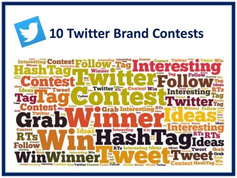 Twitter Giveaway Ideas - 10 twitter contest ideas