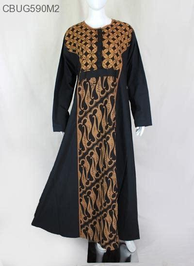 Gamis Batik Sogan gamis sogan katun primis klasik gamis batik murah