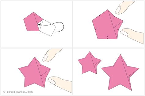 How To Make A Folded Paper - how to make origami lucky