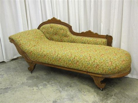 antique chaise lounge for sale antique oak vistorian sofa lounge chaise fainting couch