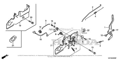 Honda Hrx217hxa by Honda Hrx217 Hxa Lawn Mower Usa Vin Maga 1000001 To