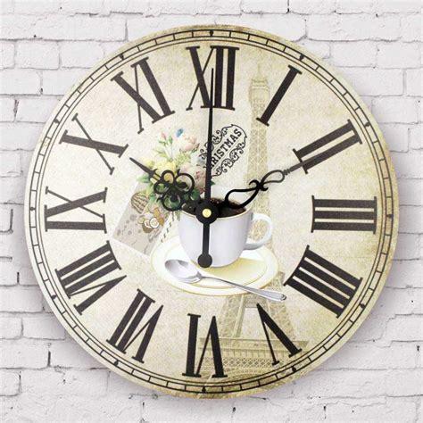 fashion coffee decorative wall clock kitchen clocks modern