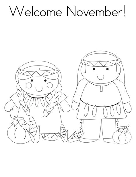 printable coloring pages for november coloring pages of welcome november for kids coloring point