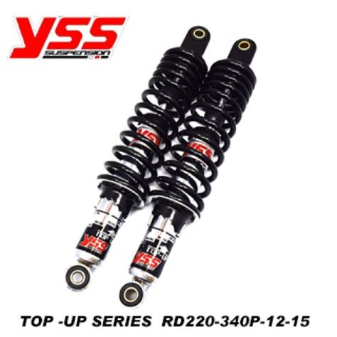 Shock Yss Top Up 340 wave 125 top up black