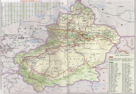 road map of china maps of xinjiang xinjiang far west china