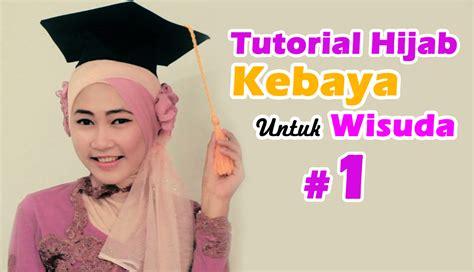 tutorial rambut graduation hijab model kebaya wisuda newhairstylesformen2014 com