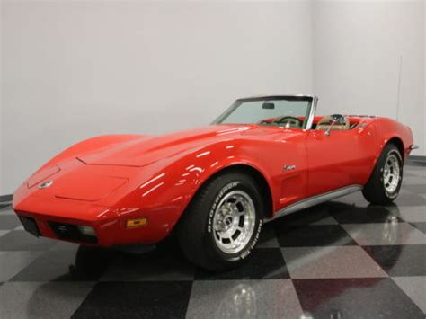 1973 chevrolet corvette convertible for sale