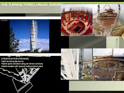 turning torso section santiago calatrava