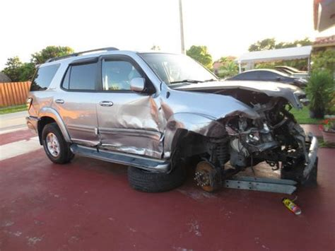 2001 toyota sequoia parts purchase used 2001 toyota sequoia limited sport utility 4