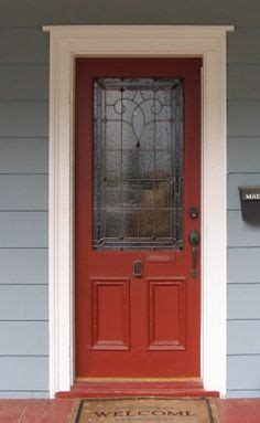 brick house with kelly moore red door 1000 images about front doors on pinterest stained