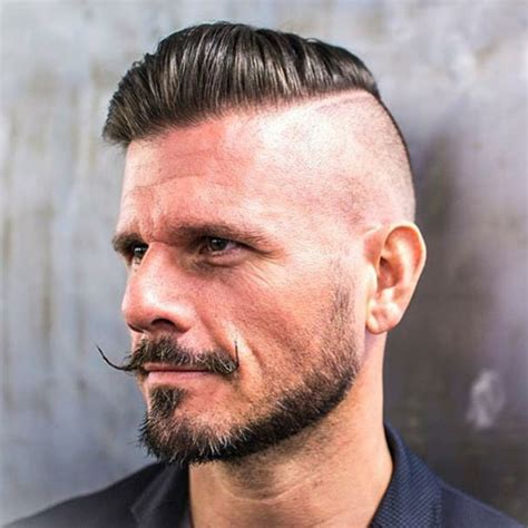 combover with one side shaved 27 comb over hairstyles for men