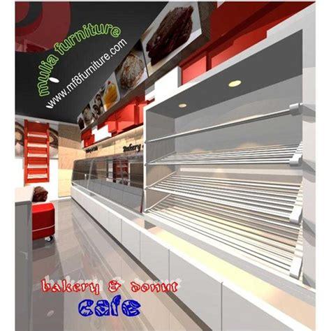 Rak Jajanan Warung jual cafe etalase makanan roti kue food display