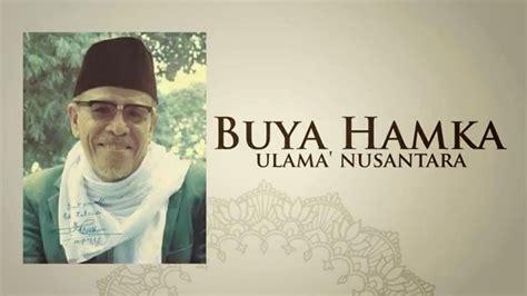 biografi dan pemikiran hamka profil buya hamka ulama dan sastrawan indonesia suara