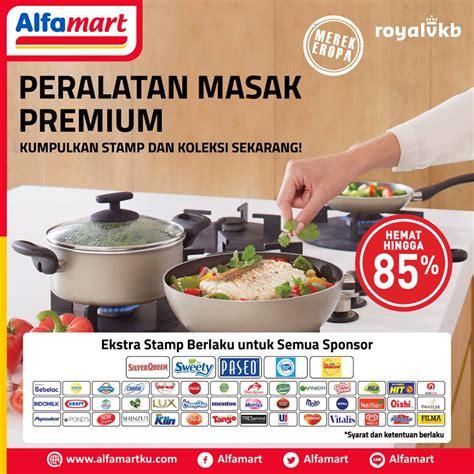 Panci Royal Vkb Alfamart masakan sederhana jadi istimewa dengan royal vkb cookware