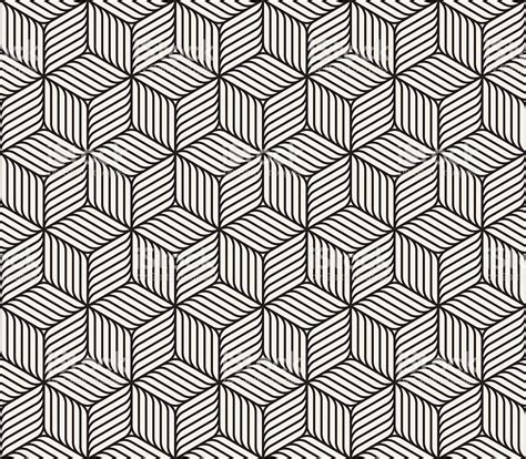 geometric patterns black and white lines vector seamless black and white cube shape lines geometric