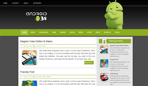 templates blogger android blogspot templates responsive blog themes free blogger