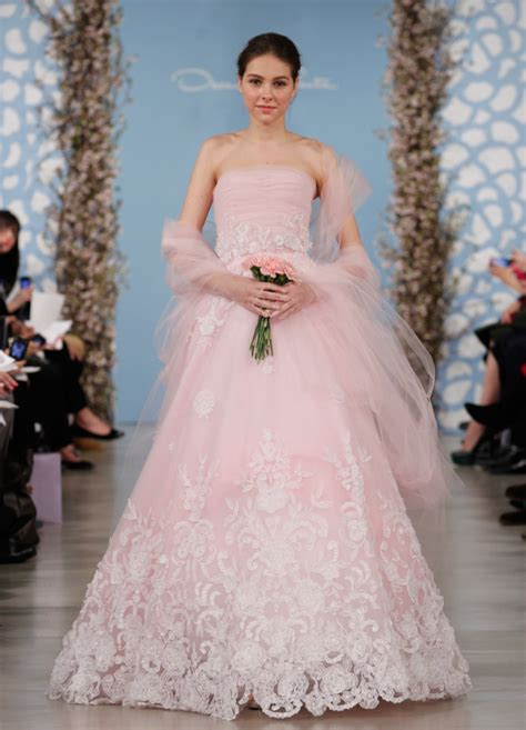 15 Best Oscar De La Renta Dresses by The Best Oscar De La Renta Wedding Dresses Modwedding