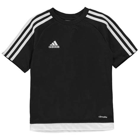 Adidas T Shirt Tshirt Black adidas adidas 3 stripe estro t shirt junior boys