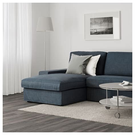 kivik sofa with chaise kivik 4 seat sofa with chaise longue hillared dark blue ikea