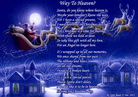 heaven holiday poems