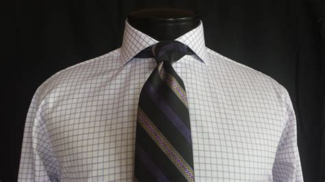 pattern shirt with striped tie man laws matching your ties bespoke edge blog